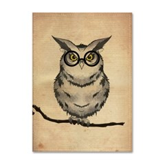 패브릭 포스터_Vintage Owl (013)