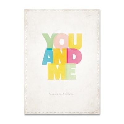 패브릭 포스터_YOU AND ME (033)