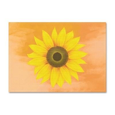 패브릭 포스터_Orange Sunflower (037)