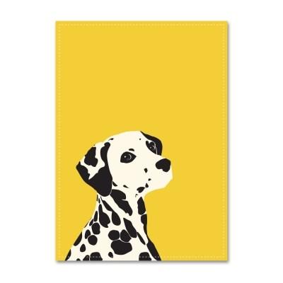 패브릭 포스터_Yellow Dalmatian (029)