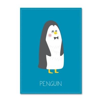 패브릭 포스터_Unlovely-PENGUIN- (052)