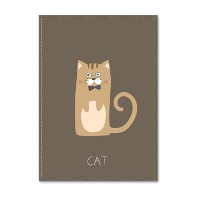 패브릭 포스터_Unlovely-CAT- (054)