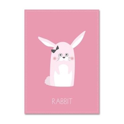 패브릭 포스터_Unlovely-RABBIT- (055)