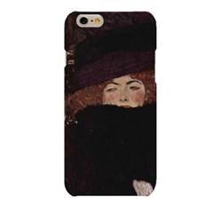 명화시리즈 클림트 Klimt 모자 한 여인 하드 케이스