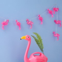 Clear Flamingo String Lamp