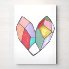[RYMD] BOX HEART 캔버스 액자