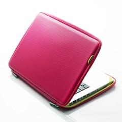 바투카 3D 큐브 맥북프로 레티나 파우치 13.3형(2017) 핫핑크
