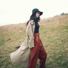 Daily fluid trench coat