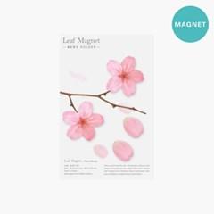리프마그넷_벚꽃(4p 한세트)