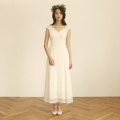 [CLAIR DE LUNE]  CIEL DRESS IVORY