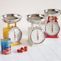 [덜튼] 1kg 주방저울_4COLOR