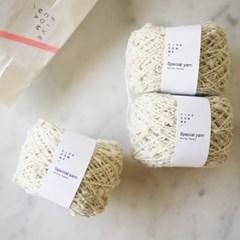 Popcorn yarn