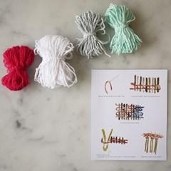 Coaster yarns set-mint