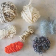 Coaster yarns set-Orange