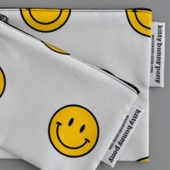 smiley pouch