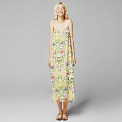 [sweet180] WATERCOLOR PRINTED MAXI DRESS (3colors)