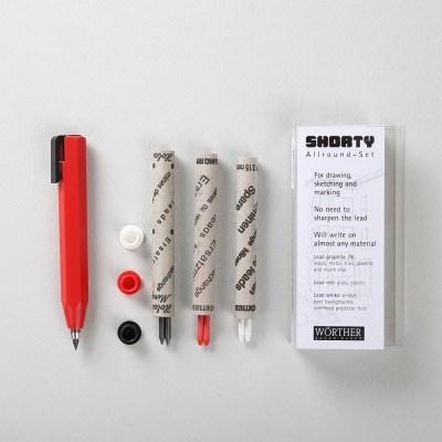 우더 쇼티(shorty) 클러치펜슬 3.15mm(리필6입)