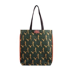 Pattern eco bag - Puppy Green
