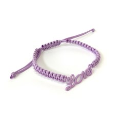 Love necklace - Purple