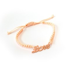 Love necklace - Apricot