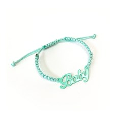 Baby necklace - Mint