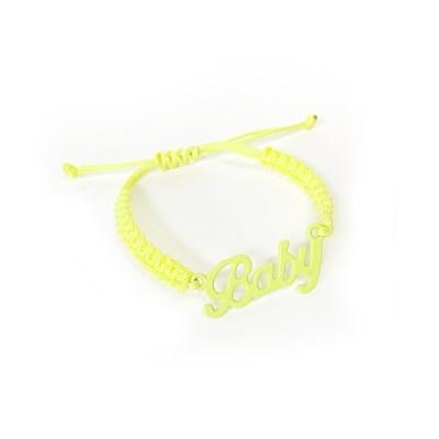 Baby necklace - Lemon