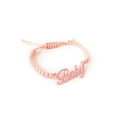 Baby necklace - Apricot
