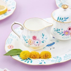 [Disney]Alice_Sugar ball & Creamer set