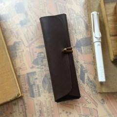 Pencil Case_Cross Folding Deluxe [Hot Choco]