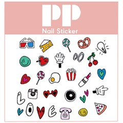 PP NAIL STICKER - LOL