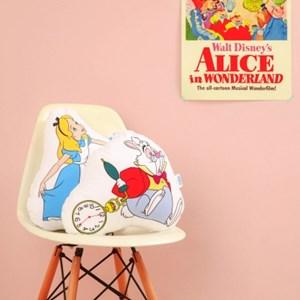 [Disney]Alice_Cushion (4style)