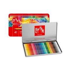 까렌다쉬 수프라 컬러 수성색연필 40색/전문용(3888.340)