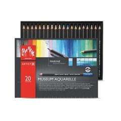 까렌다쉬 뮤지엄 수성 색연필 20색/마리나(3510.920)