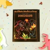 스크래치 컬러링북 다이너소어_Scratch Coloring Book Dinosaur