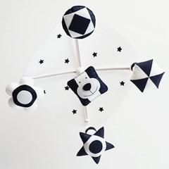 SIMPLE 흑백모빌 만들기 DIY (강아지/닭/원숭이)