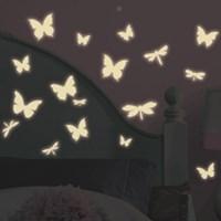 [룸메이츠] 빛을 내는 나비(RMK1706SCS)