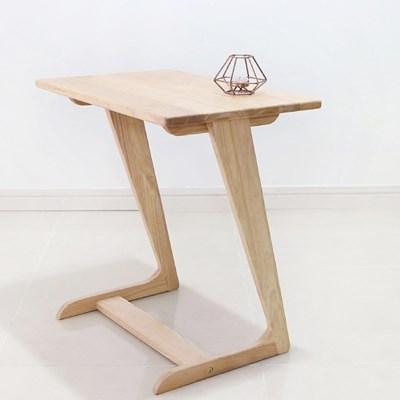 [벤트리] 원목 소파 사이드 테이블 600