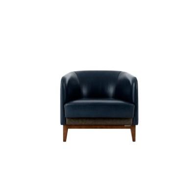 D-round sofa (1-seat)