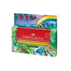 파버카스텔 그립 색연필 정글 16색 세트(112452)_(495193)