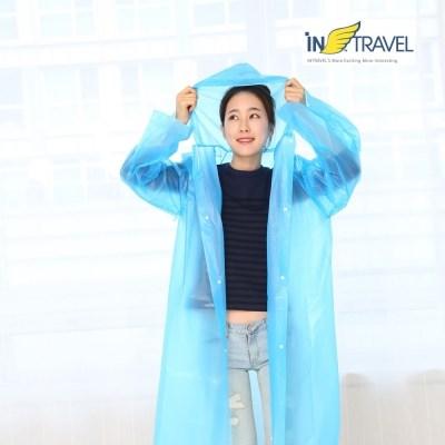 인트래블 휴대용 비옷  NO.1073