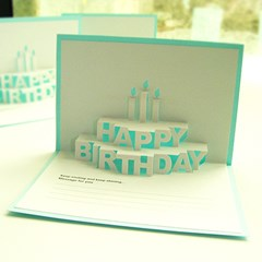 POP-Cake 생일카드
