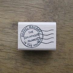 갈라파고스 우편소인스탬프