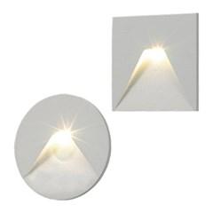 LED 피라밋 2type 매입 (발목등)