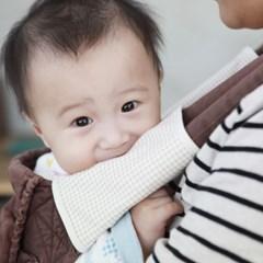 [해피코튼]오가닉 아기띠침받이/밤부 아기띠침받이