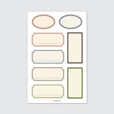 Label Sticker L01
