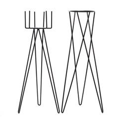 화분 스탠드(H)-14.5(Ø) x 60cm