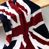 영국 유니온잭 플란넬 담요 140x100cm