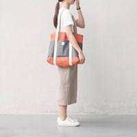 shopper bag dark orange