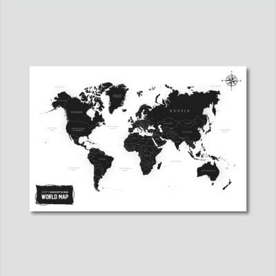 세계지도 아트프레임 에디션 no. 0006