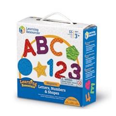 (러닝리소스)자석글자 - 알파벳,숫자,모양/LER7724_(839820)
